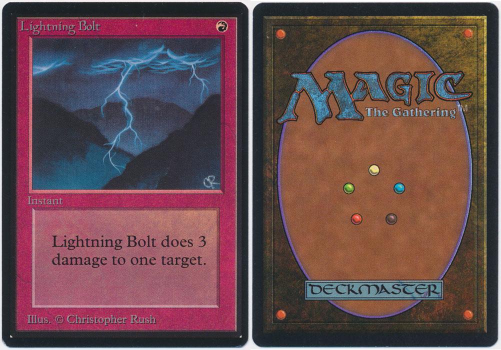 Unique image for Lightning Bolt