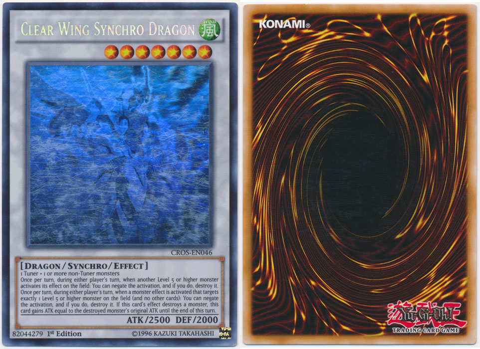 Unique image for Clear Wing Synchro Dragon (Ghost Rare)