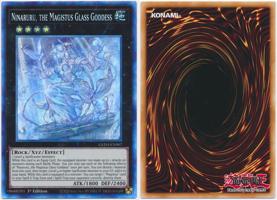 Unique image for Ninaruru, the Magistus Glass Goddess