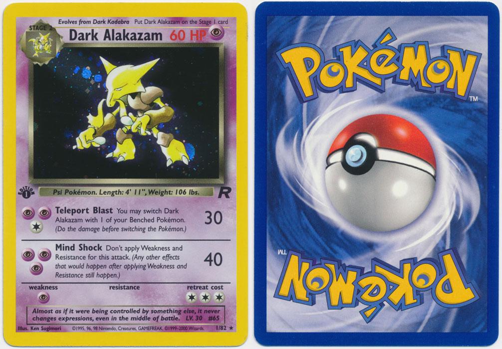 Unique image for Dark Alakazam - 1/82