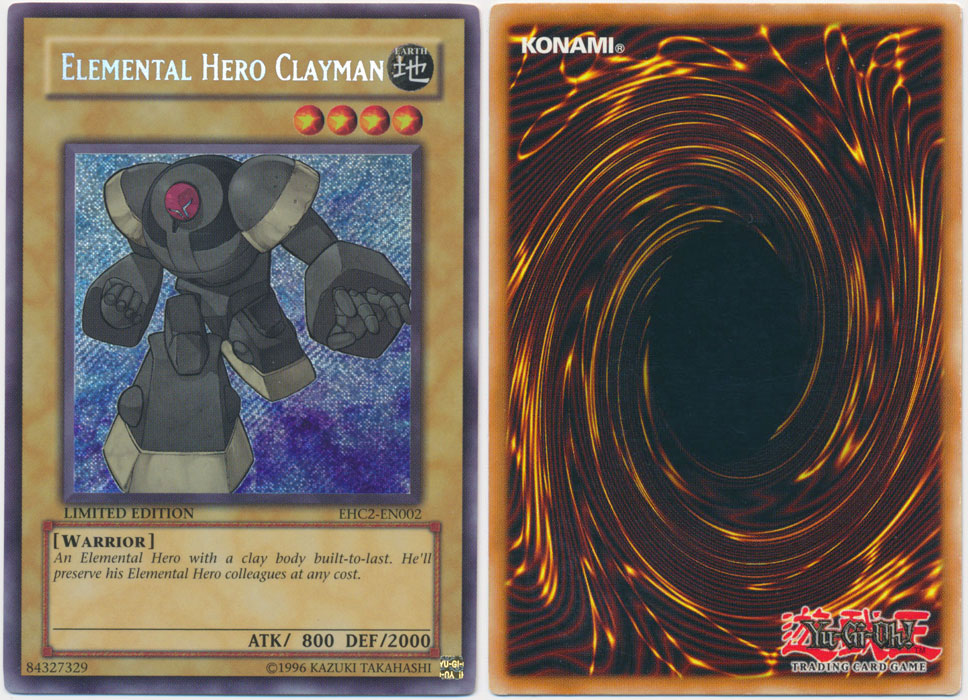 Unique image for Elemental HERO Clayman
