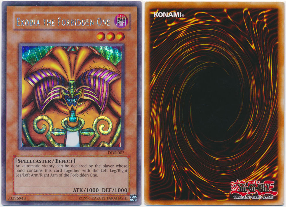 Unique image for Exodia the Forbidden One
