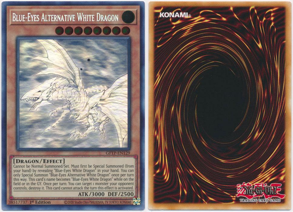 Unique image for Blue-Eyes Alternative White Dragon