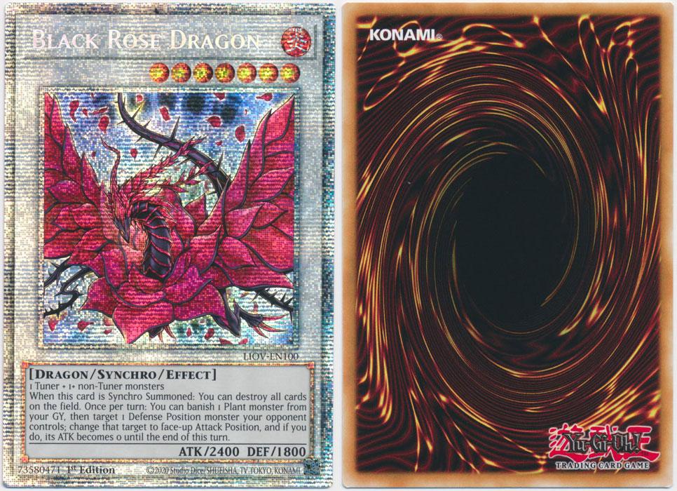 Unique image for Black Rose Dragon