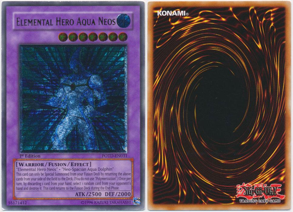 Unique image for Elemental Hero Aqua Neos (Ultimate Rare)