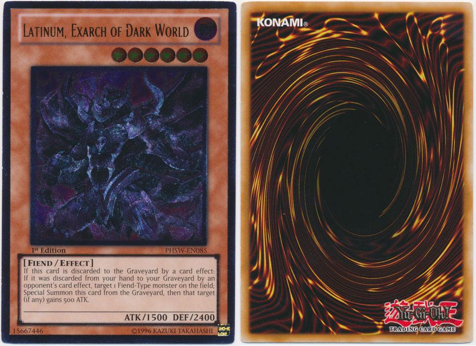 Unique image for Latinum, Exarch of Dark World (Ultimate Rare)