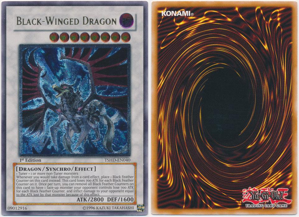 Unique image for Black-Winged Dragon (Ultimate Rare)