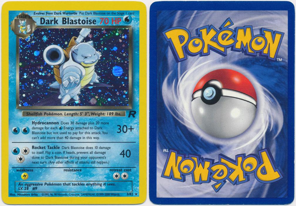 Unique image for Dark Blastoise - 3/82