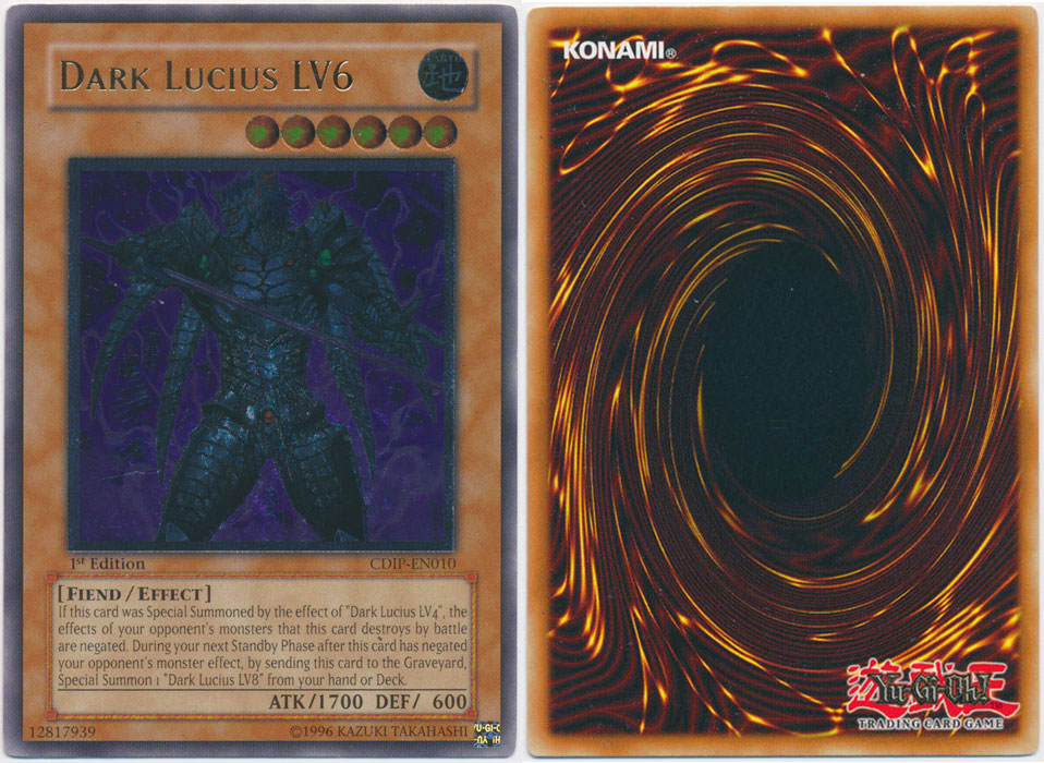 Unique image for Dark Lucius LV6 (Ultimate Rare)