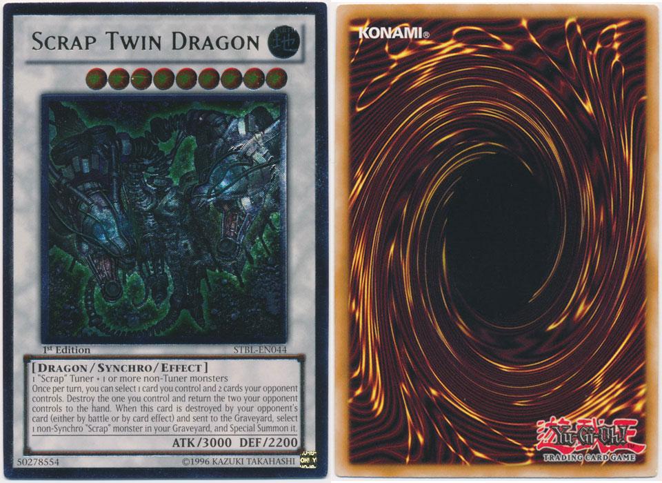 Unique image for Scrap Twin Dragon (Ultimate Rare)