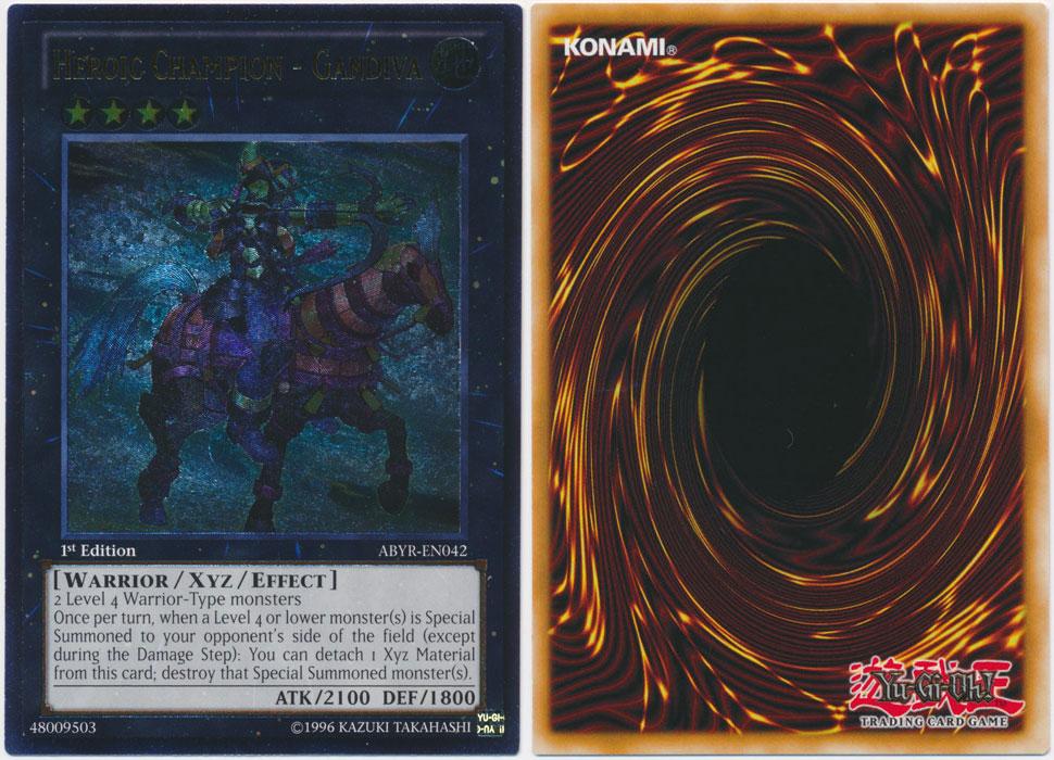Unique image for Heroic Champion - Gandiva (Ultimate Rare)