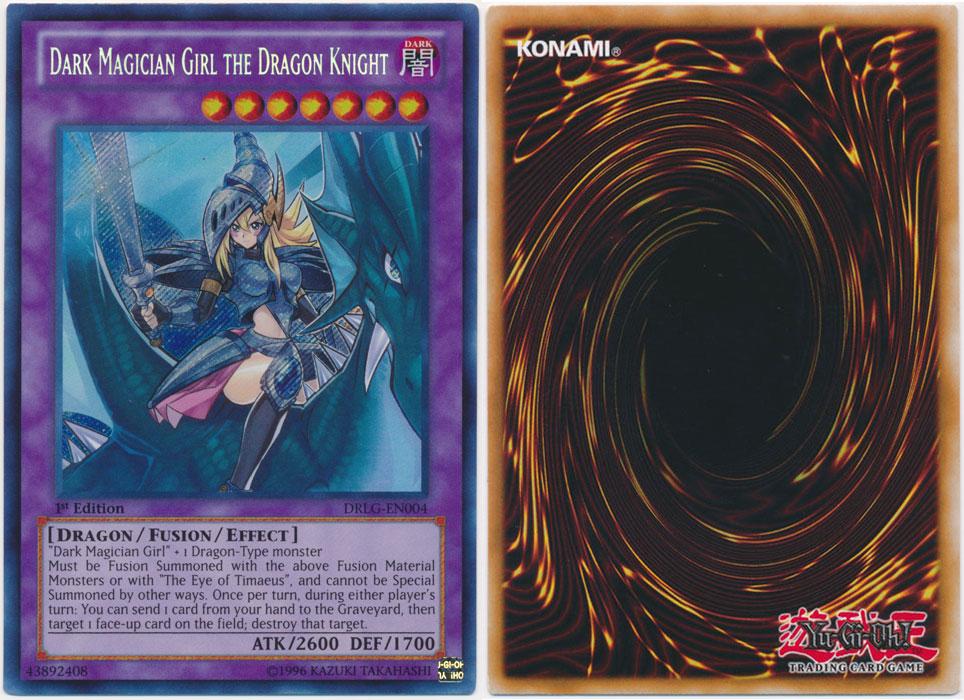 Unique image for Dark Magician Girl the Dragon Knight