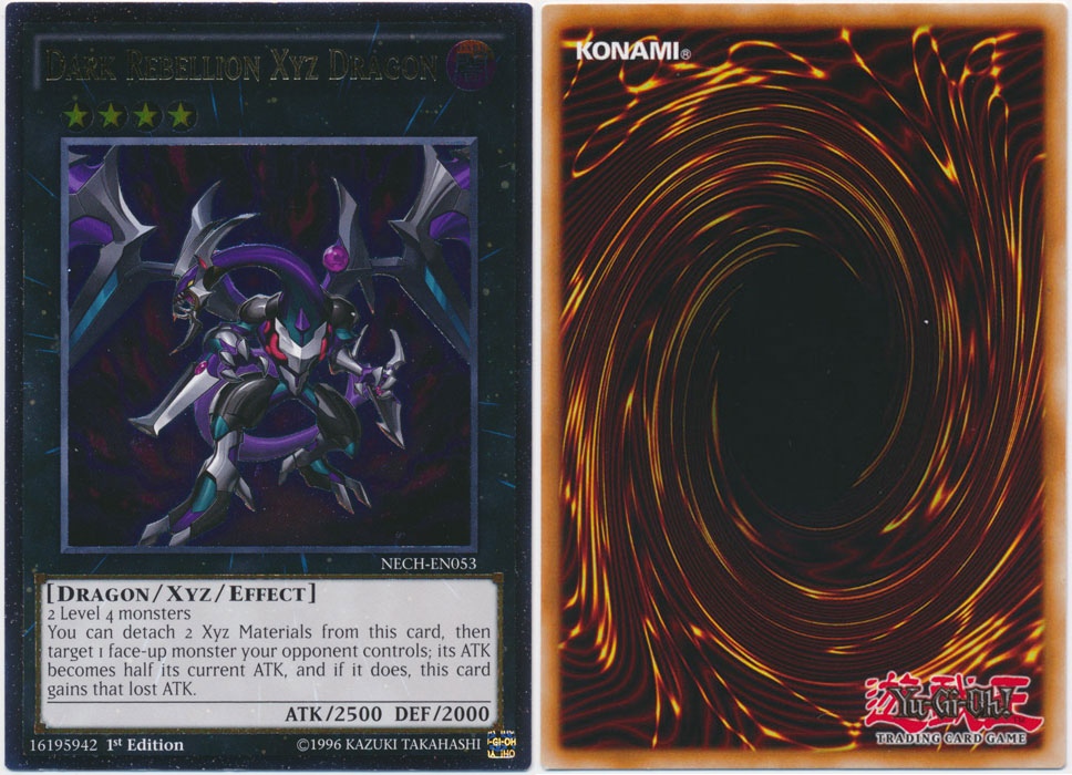 Unique image for Dark Rebellion Xyz Dragon (Ultimate Rare)