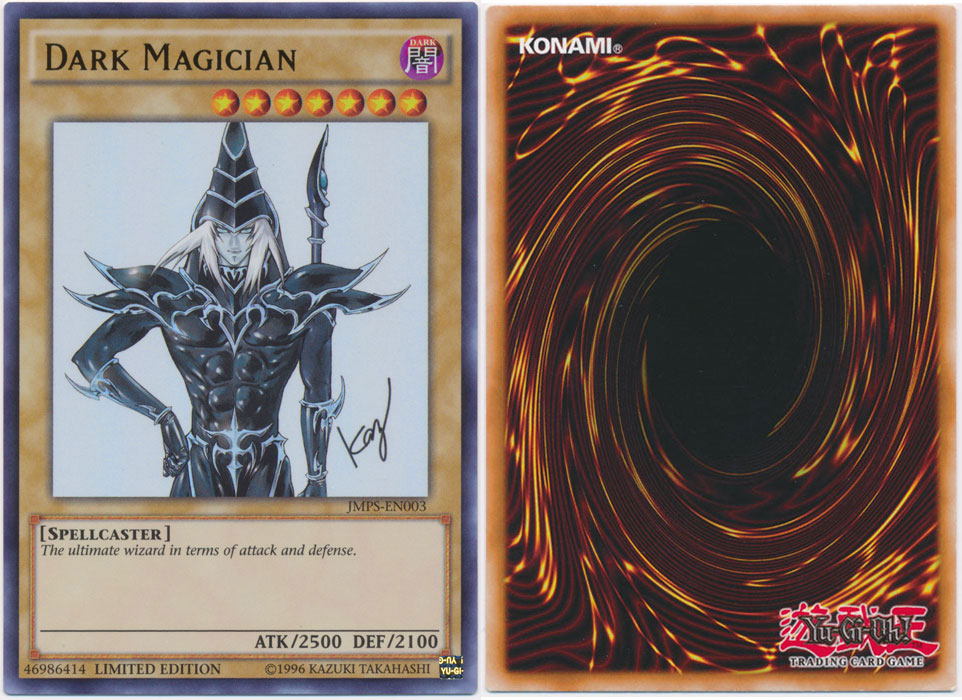 Unique image for Dark Magician