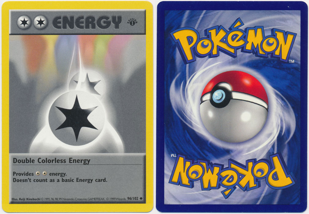 Unique image for Double Colorless Energy - 96/102