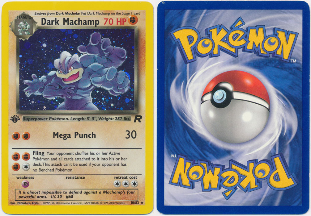 Unique image for Dark Machamp - 10/82