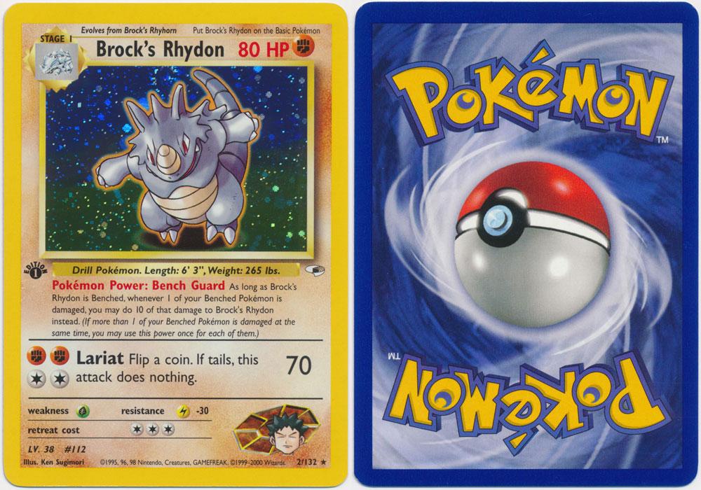 Unique image for Brock's Rhydon - 2/132
