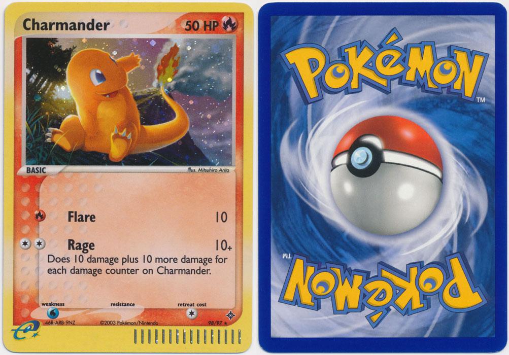 Unique image for Charmander - 98/97