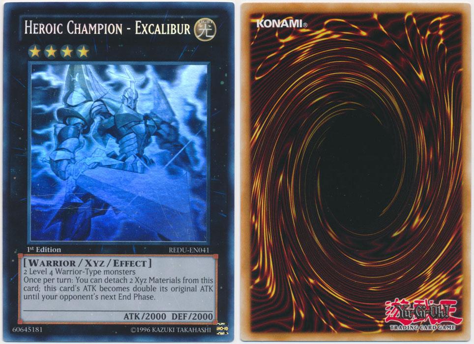 Unique image for Heroic Champion - Excalibur (Ghost Rare)