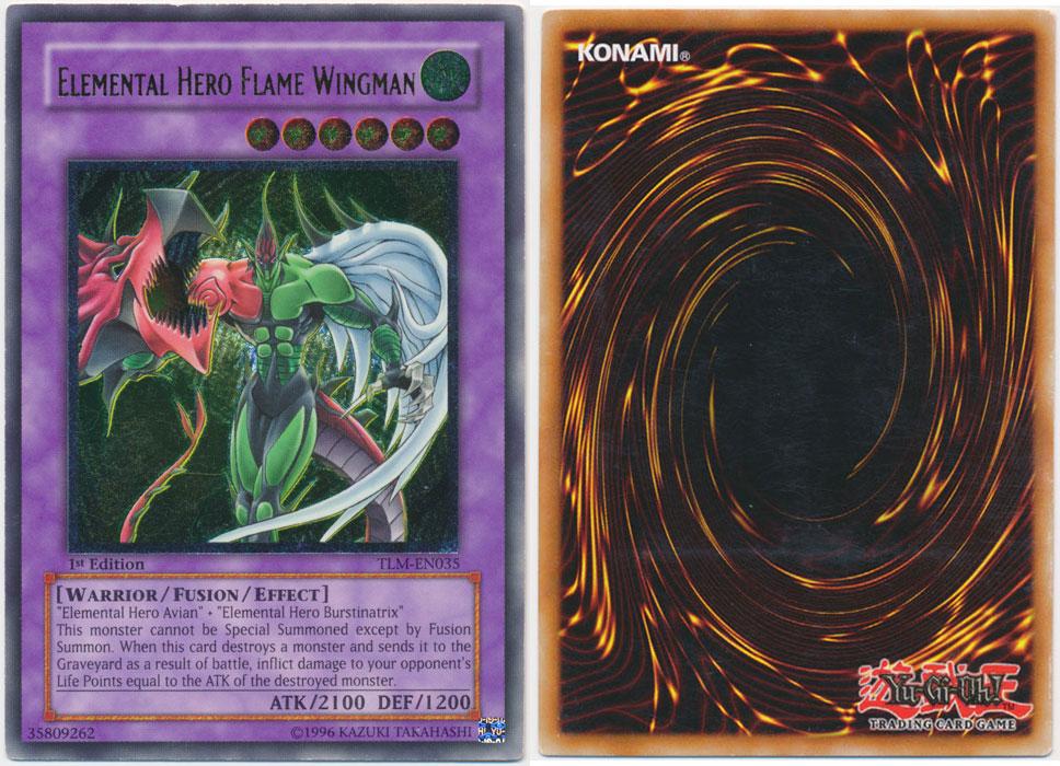 Unique image for Elemental Hero Flame Wingman (Ultimate Rare)