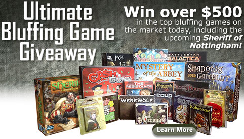 Ultimate Bluffing Game Giveaway