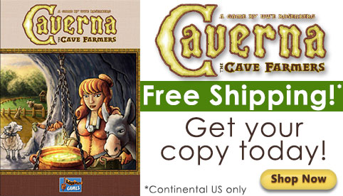 Caverna Free Shipping