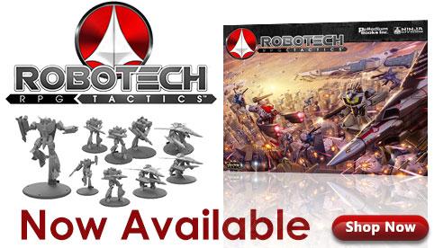 Robotech RPG Tactics November 2014 Releases