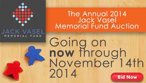 Jack Vasel Memorial Auction