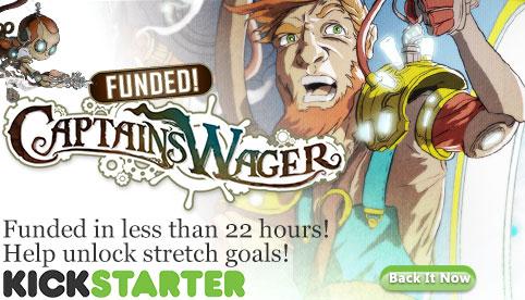 Captains Wager Kickstarter