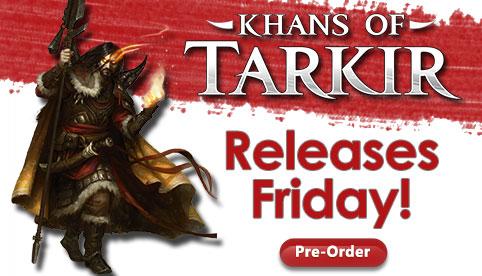 Khans of Tarkir Pre-Order