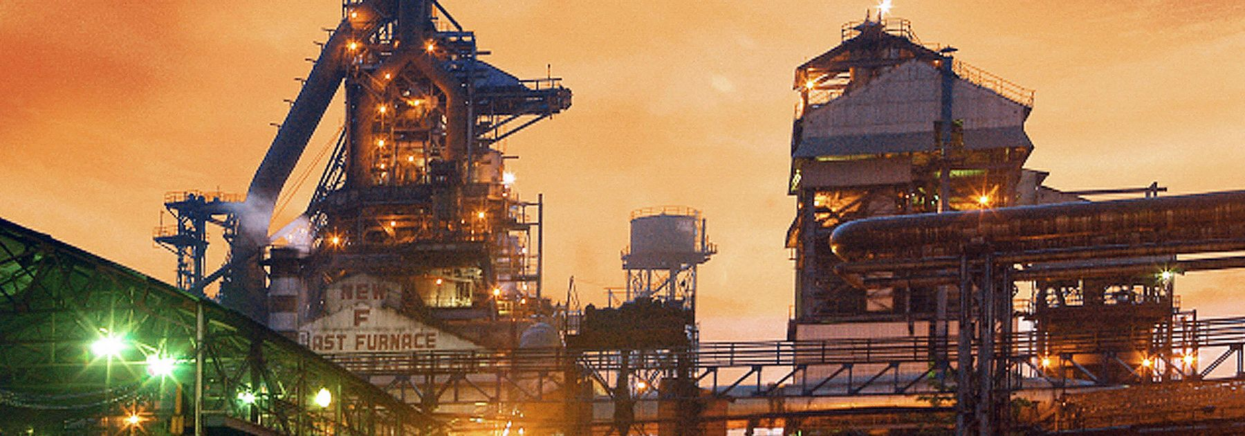 The Tata Steel plant in Jamshedpur. (STRDEL/AFP/Getty Images)