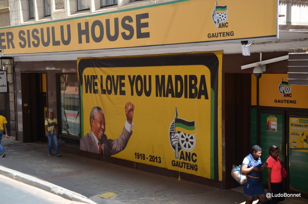 Johannesburg – Afrique du Sud mandela madiba