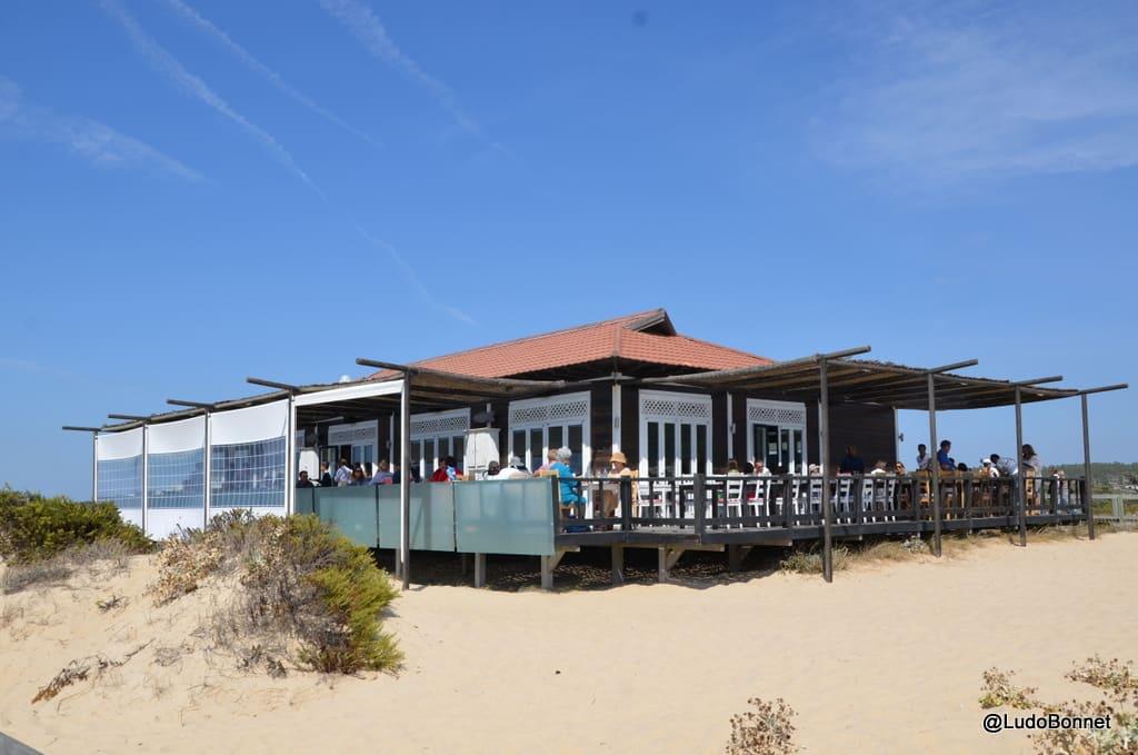 Comporta restaurant de plage