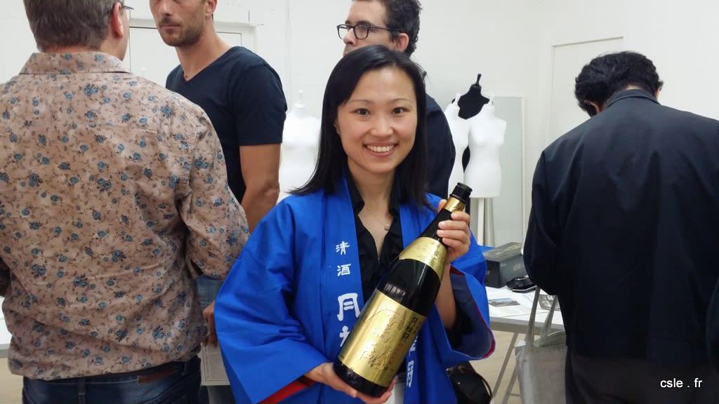 présentation saké paris