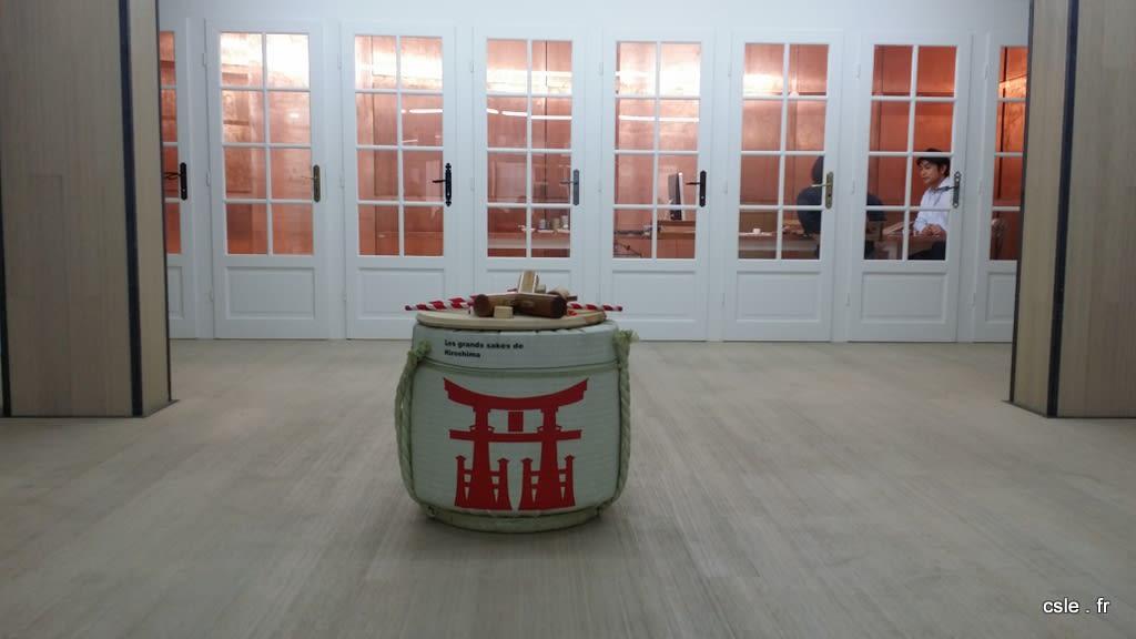 rituel du saké