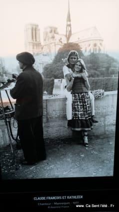 Claude Françoois et Kathleen - Les stars et la Seine