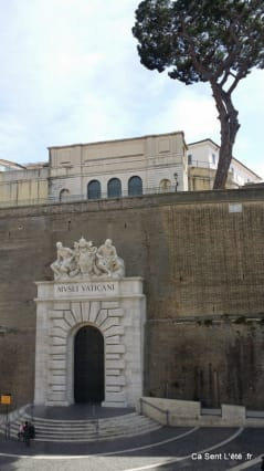 vu sur le vatican