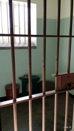 Cellule prison Mandela