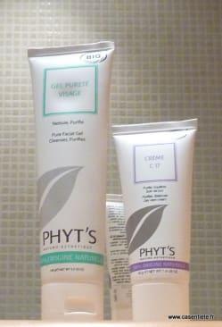 Phyt's : gel pureté visage et crème C17