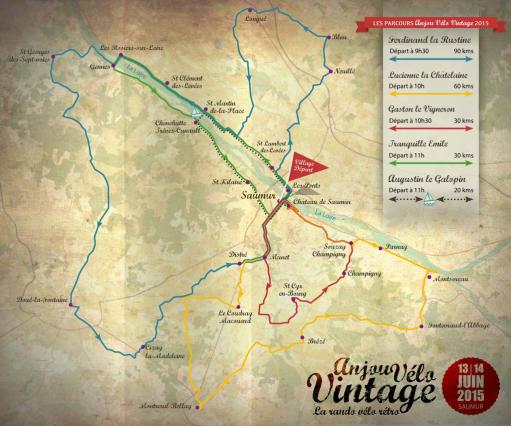 5-AVV2015-carte 5 parcours avec horaires