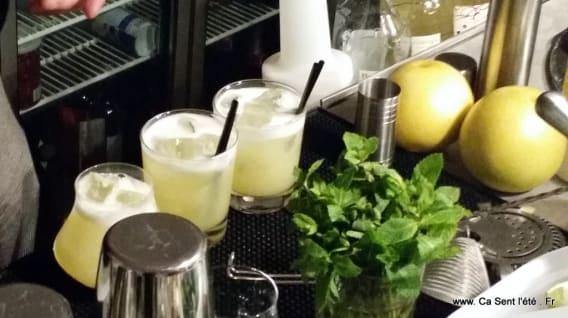 cocktail le floc de gascogne blanc