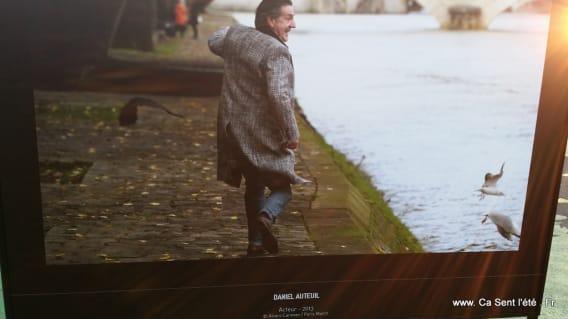Daniel Auteuil - Les stars et la Seine