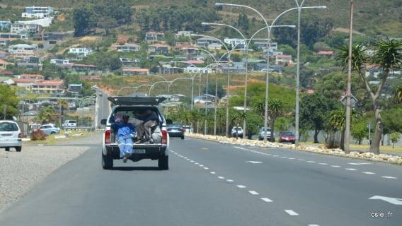 En route Cape Town