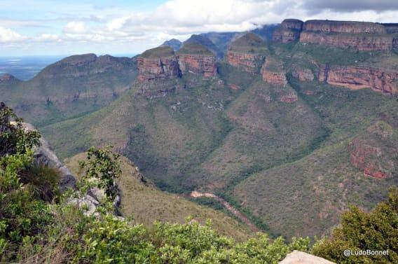 Blyde River Canyon - Three Rondawels