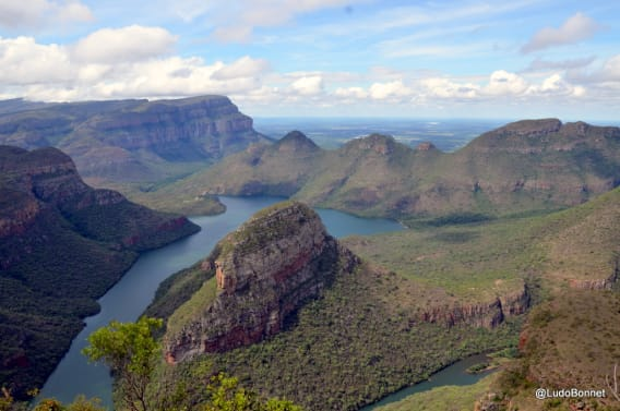 Blyde river Canyon -vue afrique du sud