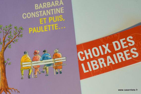 Et puis Paulette... Le choix des libraires