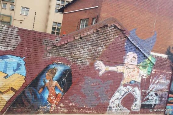 Johannesburg - Afrique du Sud - street art