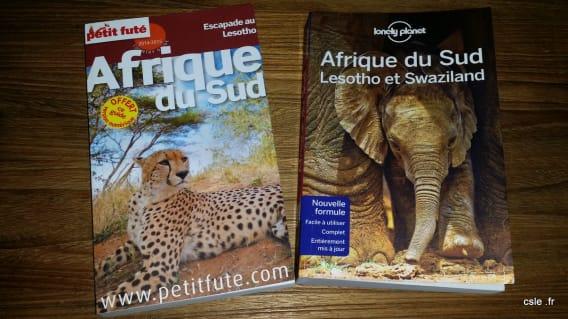 guides Afrique du Sud - Lonely Planet et Le petit futé