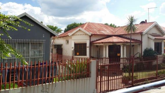 Johannesburg - Afrique du Sud maison banlieue