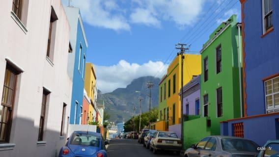 Bo-Kaap Quartier musulman et coloré du Cap